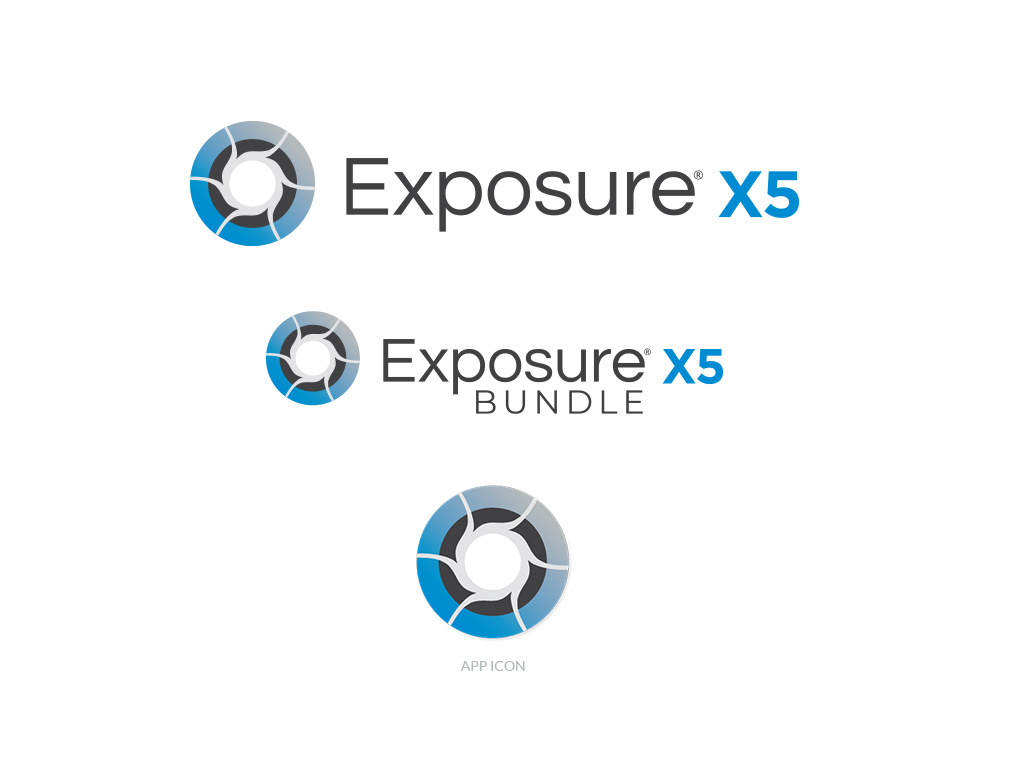 Exposure X5 logo + app icon