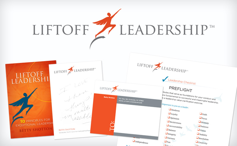LiftOff Leadership website