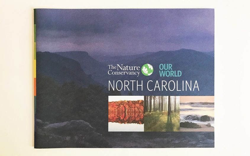 The Nature Conservancy NC Chapter campaign booklet