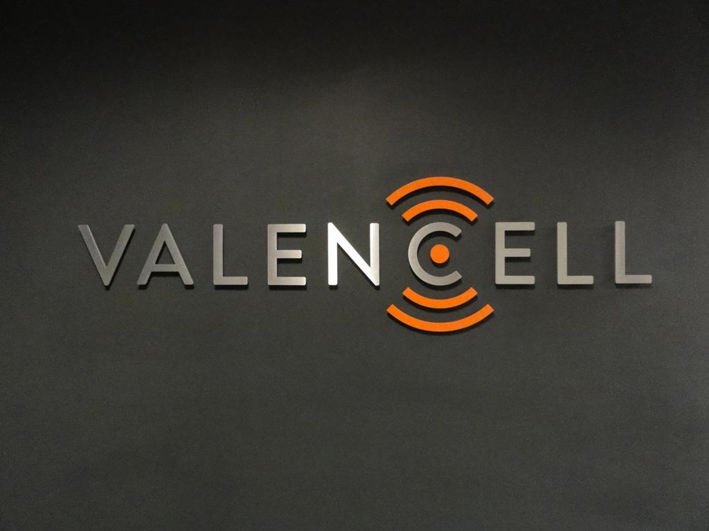 Valencell entrance signage